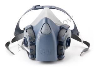 3M 37083 Half Facepiece Reusable 7503 Respirator, Large