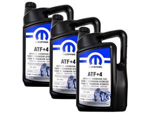 Mopar 68218058AC ATF+4 Automatic Transmission 1.3 Gal Fluid, 1 Case (3 in Total)