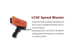 Lauer Custom Weaponry HMB LCW Speed Blaster, gravity feed media-sand blaster
