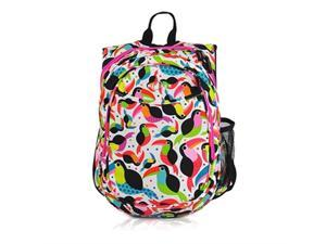 Obersee O3KCBP023 Kids Pre-School All-In-One Backpack with Cooler - Toucan