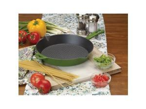 Bayou Classic 7730G 10.5 in. Enameled Cast Iron Skillet, Green
