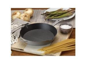 Bayou Classic 7730S 10.5 in. Enameled Cast Iron Skillet, Grey
