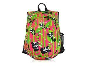 Obersee O3KCBP022 Kids Pre-School All-In-One Backpack with Cooler - Panda
