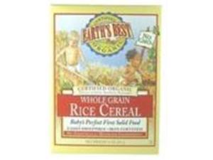 Earths Best 39123-3pack Earths Best Whole Grain Rice Cereal -3x8 Oz.