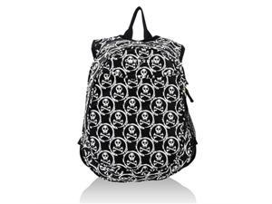 Obersee O3KCBP016 Kids Pre-School All-In-One Backpack with Cooler - Skulls