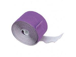 Pacon 37334 Bordette Decorative Border  2-1/4 x 50ft Roll  Violet