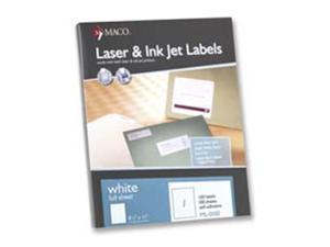 Maco Tag & Label MACML3000 Address Labels- 1in.x2-.63in. White