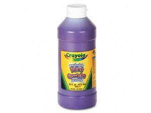 Crayola. 542016040 Washable Paint  Violet  16 oz
