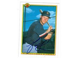 Autograph Warehouse 69218 Ellis Burks Autographed Baseball Card Boston Red Sox 1990 Donruss Diamond Kings No 23 Neweggcom