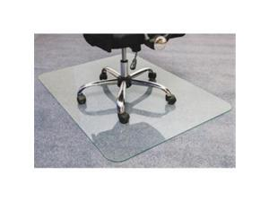 Floortex FLR123648EG 36 x 48 in. Glaciermat Glass Chair Mat