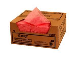 Chix 8507 CPC 11.5 x 24 in. Light Duty Wet Wiper - Pink, Case of 200