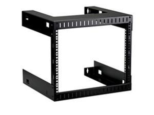 Black Box 19U Wallmount Rack 12-24 Tapped Rails Holes 75lb Capacity