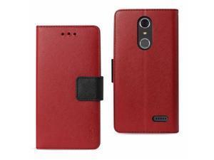 ZTE FC22-ZTEGRDX4RD Reiko ZTE Grand X4 3-in-1 Wallet Case, Red