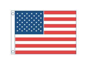 "TAYLOR MADE 921 PONTOON 24/"" FLAG POLE MOUNT /& 12X18 US FLAG"