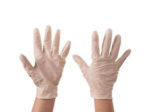 Box Partners GLV2103XL Latex Industrial Gloves, White - Extra Large - Case of 90