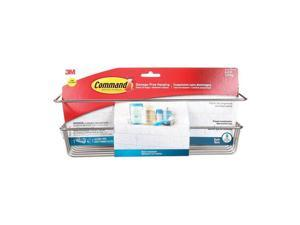 Command 5000487 12.75 in. 6.5 lbs Large Adhesive Strips Holder