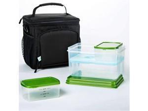 Medport 7094LTGKIT Insulated Meal Preparation Bag with Leakproof