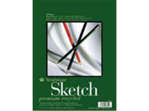 Strathmore 457-11 400 Series Recycled Sketch Pad, 11 X 14 In.