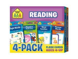 School Zone SZ040-45 Flash Cards - Reading