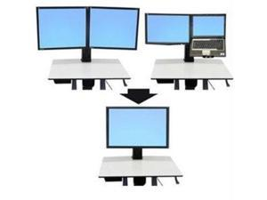 Ergotron 97-607 WorkFit-C Convert-to-Single HD Display Kit from Dual or LCD & Laptop