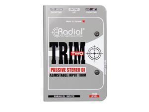 Radial Engineering RAD-TRIM-TWO Trim-Two Stereo DI with Volume Control