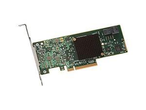 LSI Logic Controller Card 05-26105-00 MegaRAID 9341-4i Single 4Port SATA/SAS PCI Express 3 12Gb/s Low Profile Bracket Retail