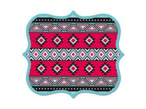 Fellowes Manufacturing 5919101 9 x 8 x 0.06 in. Designer Mouse Pads, Tribal Print