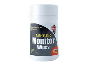 Anti Static Monitor Wipes 80 Ct Canister