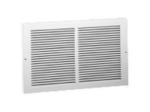 American Metal Products 375W14X6 White Baseboard Return Grille, 14 x 6 in