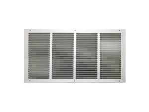 Truaire C17024X12 290 Fixed Bar Return Air Filter Grille  24 x 12 in.