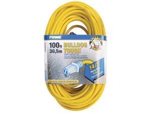 Prime LT511735 Yellow Bulldog Tough Extension Cord, 100 ft.