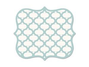 Fellowes Manufacturing FEL5919001 Lattice Mouse Pad - Teal