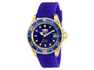 Invicta 886678288151 Mens 23682 Pro Diver Automatic 3 Hand Blue Dial Watch