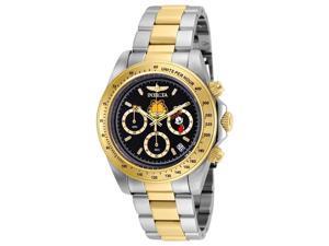 Invicta 886678301102 Mens 24890 Character Quartz Chronograph Black Dial Watch