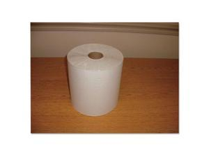 MOR W12600 7.8 in. x 600 ft. Hardwound Roll Towels, White