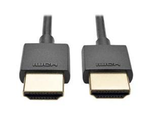 Tripp Lite P569-006-SLIM 6 ft. High Speed HDMI Cable with Ethernet Video & Audio 4K x 2K - Black