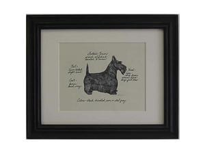 Clapper Hollow HC94 Scottish Terrier Framed Print