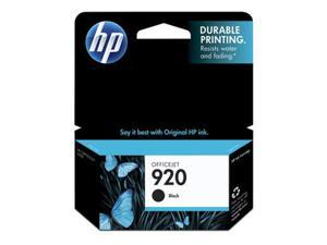 HP Consumables CD971AN#140 HP 920 Black Officejet Ink Car