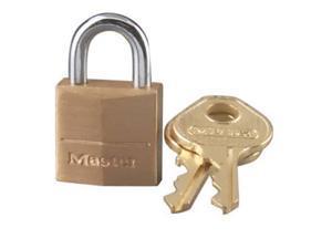 Master Lock 120KA-1A36 0.75 in. Solid Brass Padlock
