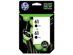 Hewlett Packard Hp 61 Black Twin Pack Us Hp 61 Black Ink Cartridge Twin Pack