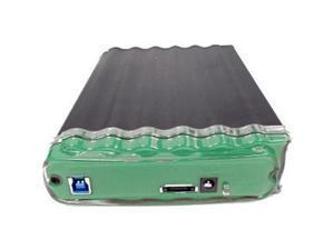 "Buslink CipherShield CSE-10T-SU3 10 TB 3.5"" External Hard Drive - Portable - eSATA, USB 3.0"