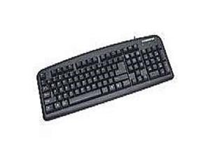 Manhattan 175708 Enhanced - Keyboard - USB - Black