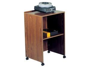 Oklahoma Sound Mobile Wooden  Lectern Base Medium Oak