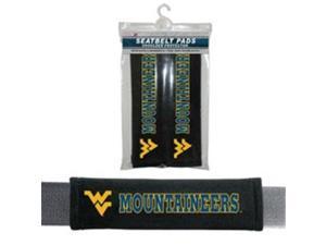 Fremont Die 2324556773 West Virginia Mountaineers Velour Seat Belt Pad