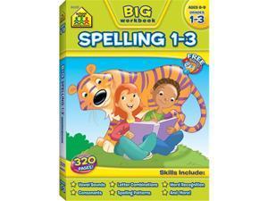 SCHOOL ZONE PUBLISHING BIG SPELLING GR 1-3 06330
