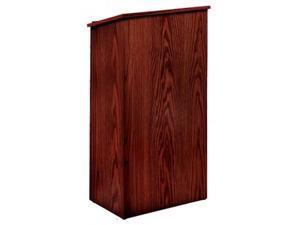 Oklahoma Sound Wooden Multipurpose Full Floor Lectern Mahogany