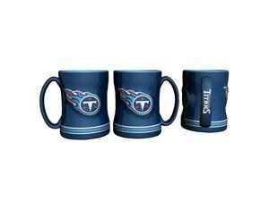 Tennessee Titans Coffee Mug - 14oz Sculpted Relief