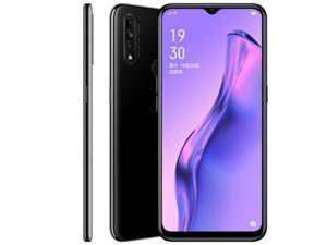 OPPO A8 mobile phone with AI three-camera smart beauty camera, 4230mAh long battery life, large memory, secret night black 4G+128G