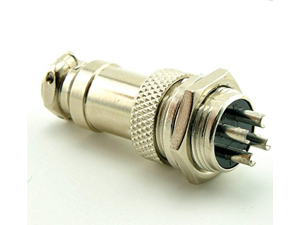 4PIN 16mm GX16-4 pin plug cable connector plug Aviation Plug Male & Female Wire Panel Metal Connector 16mm 4 Pin GX16-4 4-Pin