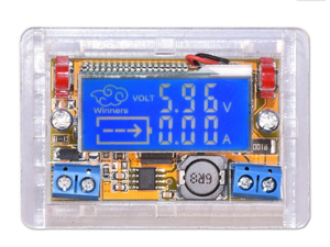 DC-DC Adjustable Step-down Power Supply Module Voltage Current LCD Display Shell DC5-23V to 0-16.5V 3A Buck Converter